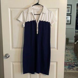 EUC Lilly Pulitzer Tonda Polo Dress large